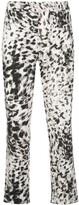 Natori leopard-print cropped trousers