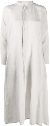Plantation front buttoned shift dress