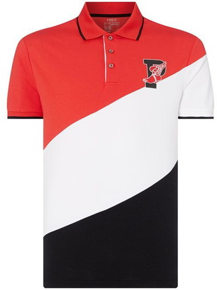 Polo Ralph Lauren Short Sleeve Diagonal Stripe Polo Shirt