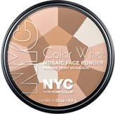 Coty N.Y.C. New York Color, Colour Wheel Mosaic Face Powder, Translucent Highlighter Glow, 0.32 Ounce