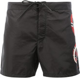 Gucci snake side-print shorts - men - Polyamide - 52
