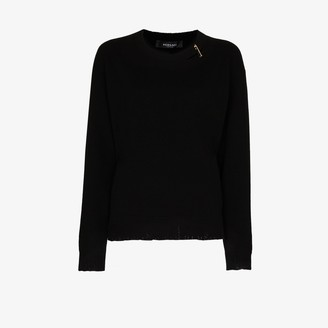 Versace Medusa Safety Pin cashmere sweater