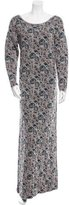 Thierry Colson Wool-Blend Patterned Dress w/ Tags