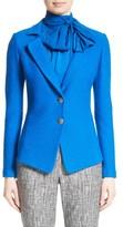 St. John Women's Clair Knit Peplum Jacket