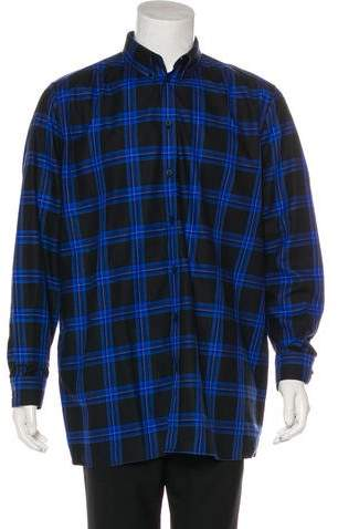 Givenchy 2016 Plaid Shirt