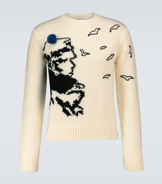 Lanvin Corto Maltese crewneck sweater