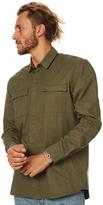Swell Exhaust Ls Shirt Green