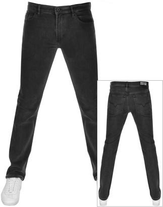 Versace Slim Fit Jeans Black