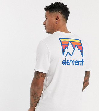 Element Joint t-shirt in white Exclusive at ASOS
