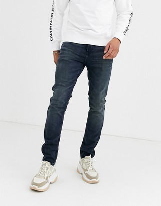 Calvin Klein Jeans skinny jeans in mid wash