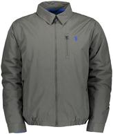 U.S. Polo Assn. Dark Charcoal Zip-Up Golf Jacket