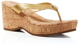 Tory Burch Platform Wedge Sandals - Suzy