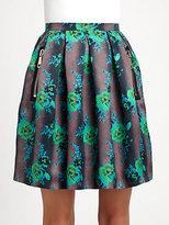 Christopher Kane Floral Print Princess Skirt