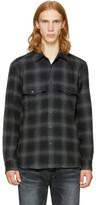 Marcelo Burlon County of Milan Grey Sham Shirt