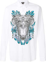 Just Cavalli front printed shirt