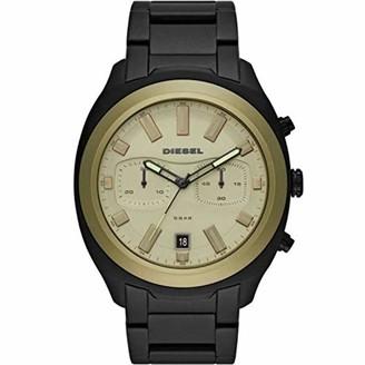Diesel Mens Chronograph Quartz Watch with Stainless Steel Strap DZ4497