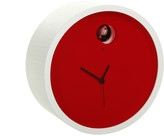 Diamantini Domeniconi Diamantini & Domeniconi - Plex Wall Clock - Red