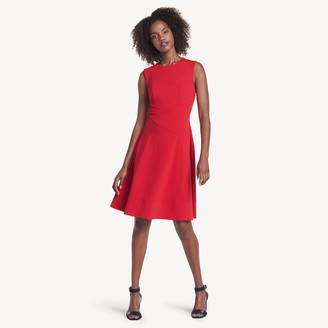 Tommy Hilfiger Essential Fit And Flare Dress
