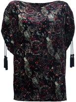 Roberto Cavalli paisley print blouse