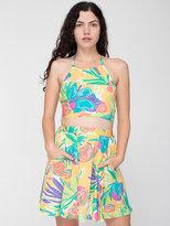 American Apparel California Select Original Halter Top & Mini Skirt
