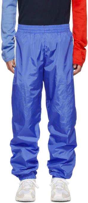 Moncler Genius 2 1952 Blue Nylon Track Pants