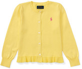 Polo Ralph Lauren Ruffle Cardigan (2-7 Years)