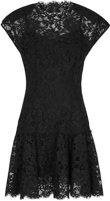 Dolce & Gabbana Black lace mini dress