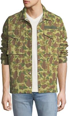 Rag & Bone Men's Camouflage-Print Flight Shirt Jacket