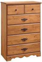 Green Baby South Shore Prairie Collection 5-Drawer Chest - Country Pine