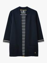 Joules Rana Internal Stripe Knit Cardigan