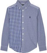 Ralph Lauren Pony Check Cotton Shirt 6-14 Years