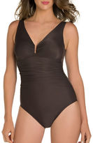 Miraclesuit Palisades Solid One-Piece Swimsuit