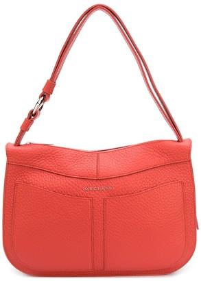 Orciani Ginger leather shoulder bag