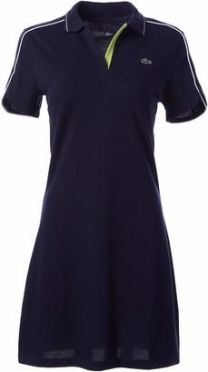 Lacoste Women's Sport Stretch Cotton Pique Golf Polo Dress