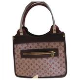 Louis Vuitton Pink Cloth Handbag
