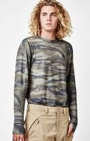 Burton Midweight Base Layer Camo Long Sleeve Snow T-Shirt
