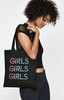 La Hearts Graphic Tote Bag