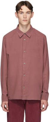 Our Legacy Purple Delicate Frontier Shirt