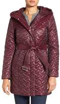 Cole Haan Thermore Water Repellent Quilted Coat