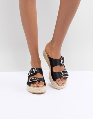 ASOS DESIGN Jacques Premium Espadrille Sandals