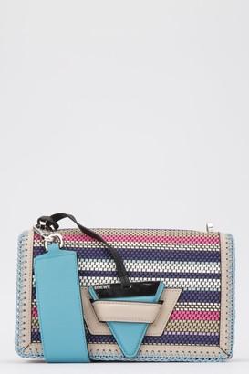 Loewe Barcelona Woven Crossbody Bag