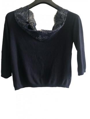 Anna Molinari Blue Cotton Knitwear for Women