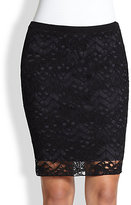 Eileen Fisher Lace Pencil Skirt