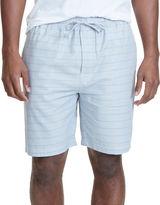Nautica Herringbone Print Cotton Pajama Shorts