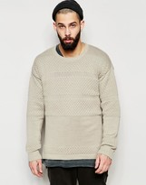 Asos Longline Sweater with Split Hem