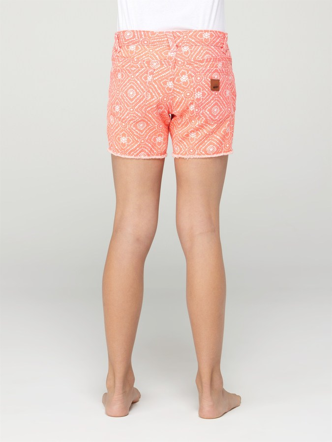 Roxy Girls 7-14 Long Trail Blazer Shorts