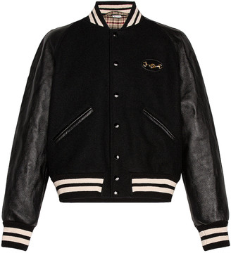 Gucci Varsity Jacket in Black | FWRD