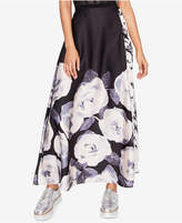 Rachel Roy Floral-Print Maxi Skirt, Created for Macy's