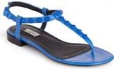 Balenciaga Studded T-Strap Sandal (Women)