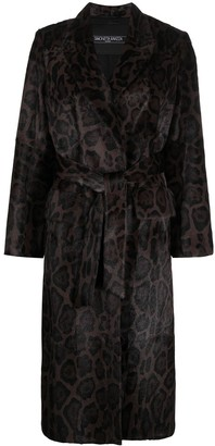 Simonetta Ravizza Frida animal print coat